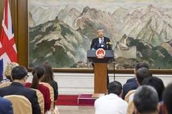 چین نسبت به تشدید تنش در رابطه با انگلیس هشدار داد