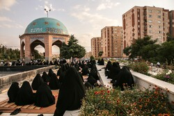 مراسم دعای عرفه در بجنورد