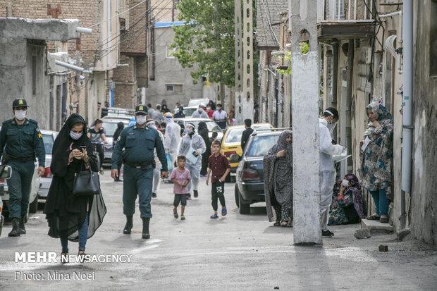 پویش «کرونا به علاوه ماسک» در تبریز