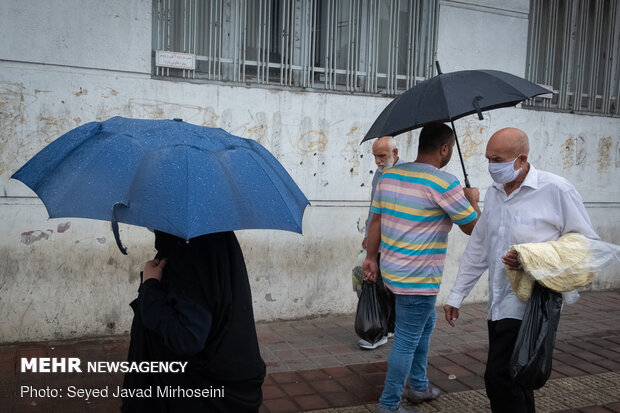 ادامه بارش های تابستانه در سیستان و بلوچستان و نوار شمالی کشور