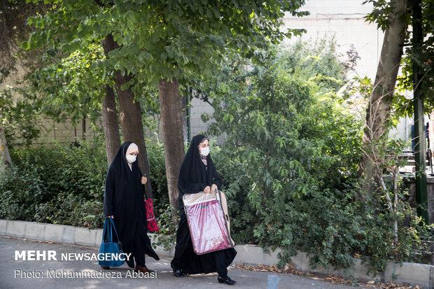 مراسم روز عرفه در دانشگاه تهران