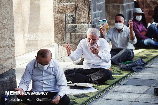 مراسم دعای عرفه در همدان