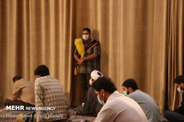 مراسم دعای عرفه در امامزاده قاضی الصابر(ع)