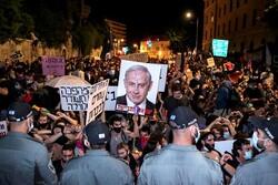تظاهرات معترضان علیه نتانیاهو در فلسطین اشغالی