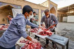 صوبہ کرد میں قربانی کے گوشت کی تقسیم