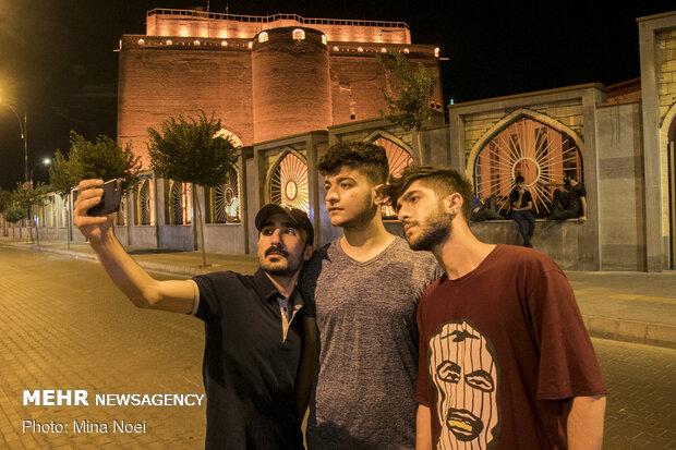 Tebriz'de Kurban Bayram'ı coşkusu