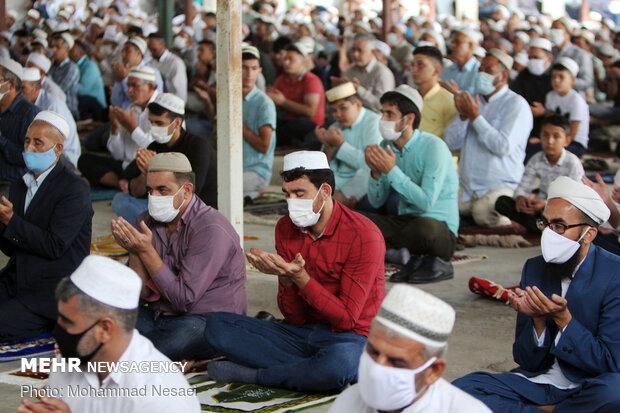 اقامه نماز عید قربان در آق قلا