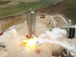 تست پرش ۱۵۰ متری موشک استارشیپ
