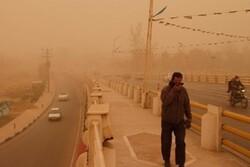 وقوع گرد و غبار برای خوزستان پیشبینی میشود