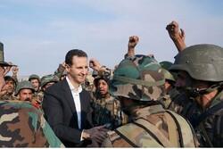 Bashar Al-Asad  praises Syrian Army on National Army Day