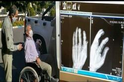 محیطبان آسیبدیده درگزی از بیمارستان مرخص شد