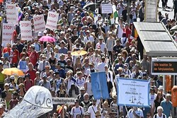 مردم آلمان تظاهرات «روز آزادی» برگزار کردند