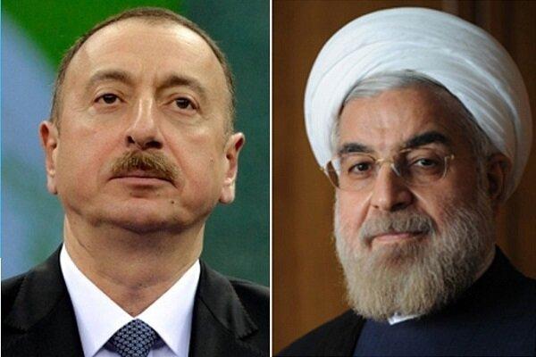 روحاني يهنئ نظيره الآذربيجاني ويؤكد على الإسراع بتنفيذ الاتفاقيات الثنائية