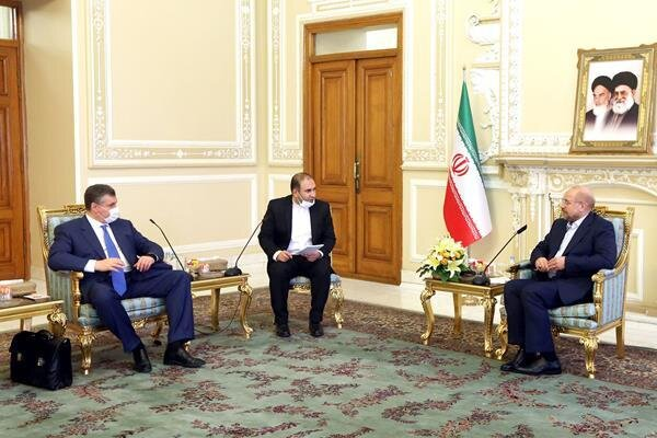 Ghalibaf meets chair of Russian Duma's Foreign Affairs Cmte