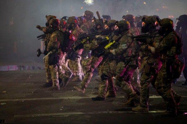 ترامپ معترضان پورتلند را به کاربرد «قوه قهریه شدیدتر» تهدید کرد
