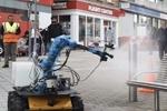 ربات ها کووید ۱۹ را از مرکز شهر پاکسازی می کنند