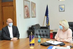 Bosnia seeking to expand relations with Iran
