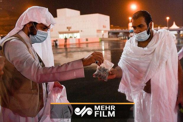 تصاویری از ضدعفونی سنگریزه های جمرات