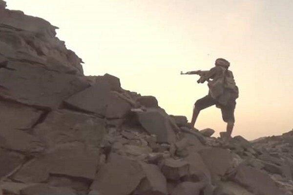 دفع یورش مزدوران آل سعود به منطقه الصوح یمن