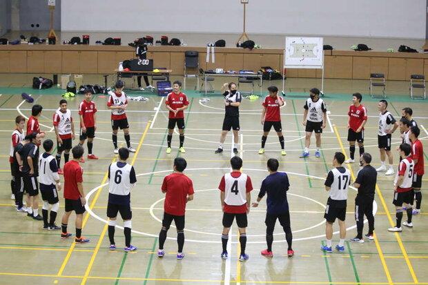 شکست تیم ملی فوتسال ژاپن در دیدار تدارکاتی