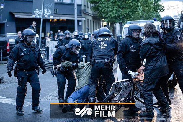 VIDEO: Protests in Germany against COVID-19 restrictions