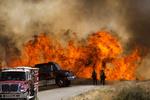 آتشسوزی در جنگلهای جنوب کالیفرنیا
