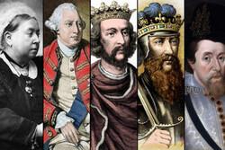 راپورتهایی از پادشاهان بریتانیایی در رادیو صبا