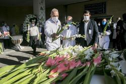تبریز میں مدافع سلامت شہید کی تشییع جنازہ