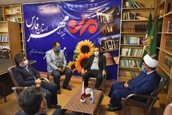 معاون استاندار فارس از خبرگزاری مهر بازدید کرد/ جذب مخاطب با خبرهای دقیق