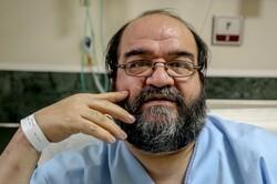 حمید داودآبادی رزمنده هشت سال دفاع مقدس کرونا گرفت