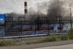 حریق در نیروگاه حرارتی روسیه/ یک نفر کشته شد