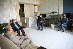 بازدید اعضای شورای شهر مشهد از خبرگزاری مهر به مناسبت روز خبرنگار