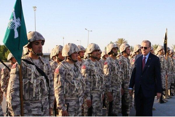حضور نظامی ترکیه در نزدیکی مرزهای امارات