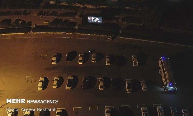 arabalı sinema keyfi