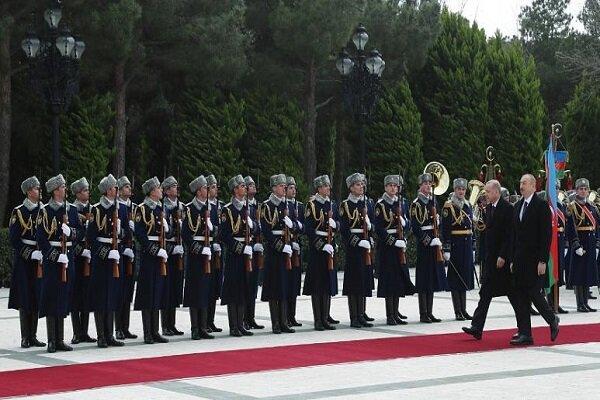 ادامه رزمایش مشترک جمهوری آذربایجان با ترکیه