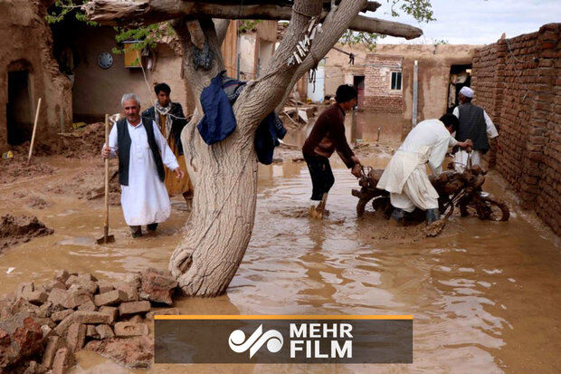 سیل ناگهانی در افغانستان