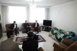 عیادت شهردار و شورای شهر اندیشه از خبرنگار مهر