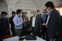 بازدید معاون رئیس جمهور از شرکت های دانش بنیان استان یزد