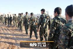 """Suriye halkı """"DSG"""" unsurlarının bulunduğu yeri ele geçirdi"""