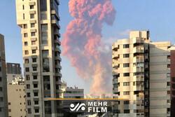 بیروت میں ہونے والے بم دھماکے میں بڑے پیمانے پر جانی و مالی نقصان