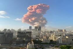 انفجار ضخم يهز بيروت /سقوط عشرات الجرحى وأضرار كبيرة في مكان الانفجار