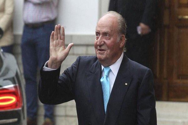 پادشاه سابق اسپانیا این کشور را ترک می کند