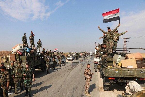 ارتش سوریه از هوا و زمین مواضع عناصر تروریستی را در هم کوبید