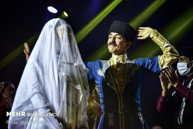 National Iranian tribes' marriage festival