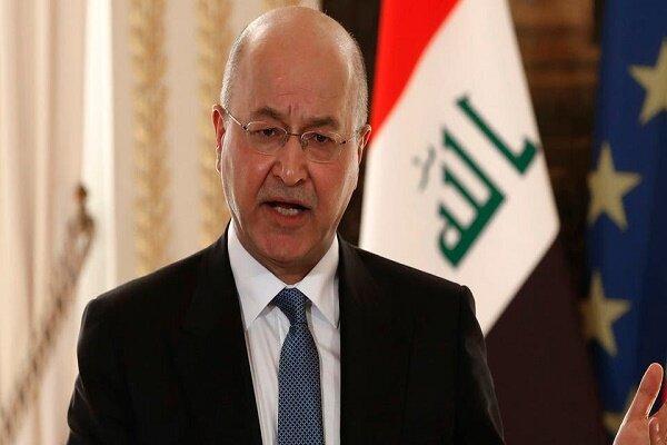 Zarif meets with Iraqi President