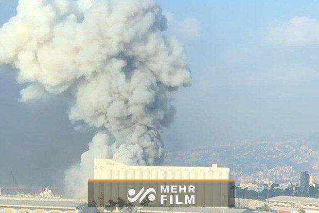 VIDEO: Beirut port 1 month after deadly blast