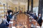 جلسه فوقالعاده شورای عالی دفاع لبنان آغاز شد