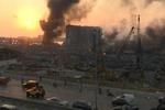 انفجار بندر «بیروت» ناشی از یک محموله نیترات آمونیوم بوده است