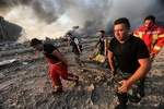 Lübnan Kızılhaçı'ndan patlama açıklaması