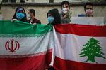 همدردی مردم ایران با مردم لبنان